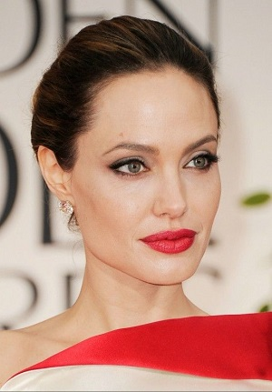 Angelina Jolie Fun of Dermarolling