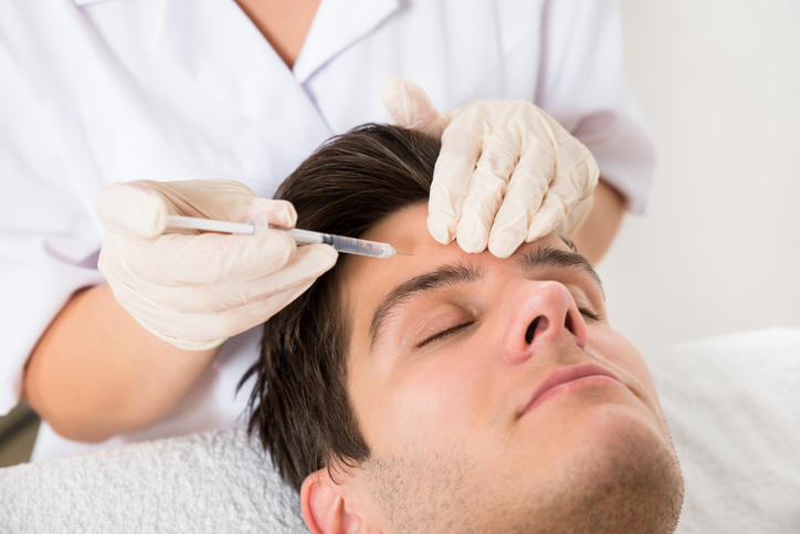 Brotox or Botox for Men Anna's Cosmetics